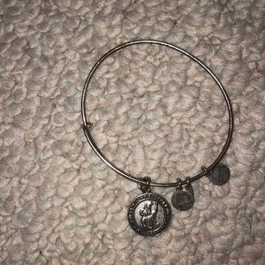 Saint Christopher Alex and ani bracelet